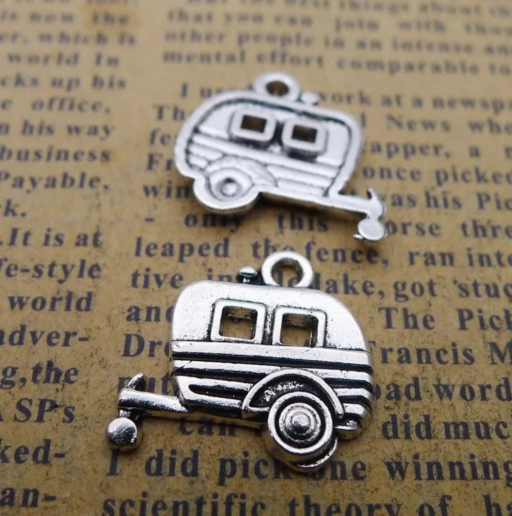 10 RV Camper Trailer Camping Charm Wholesale