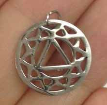 6 Stainless Steel Root Chakra Charms Gold or Silver