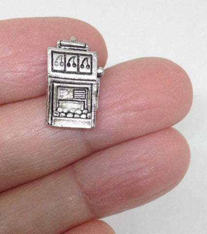5 Slot Machine Casino Gambling Charm