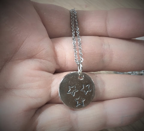 Tennessee Tri Star Charm Necklace