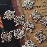 20pcs Tree of Life Charm Family