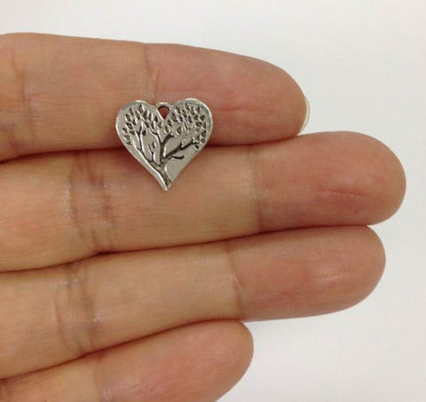 heart tree of life charm wholesale