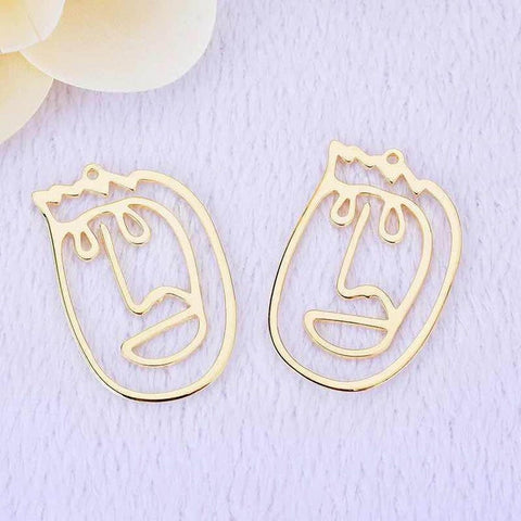 President Trump Face Charms for DIY Jewelry making | 10 pcs
