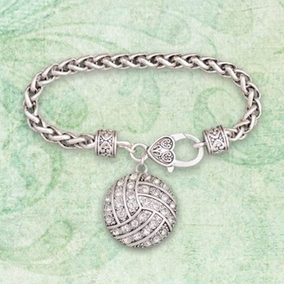 Volleyball Toggle Bracelet