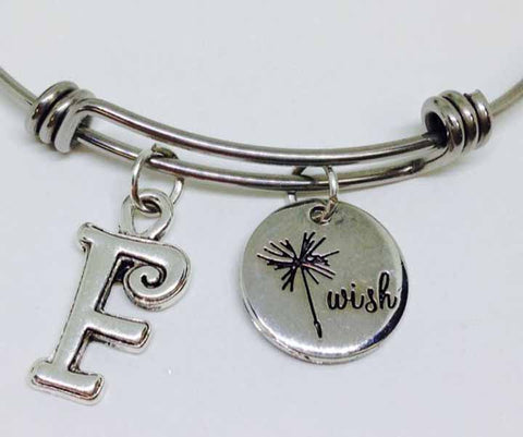 Wish Bracelet personalized bangle