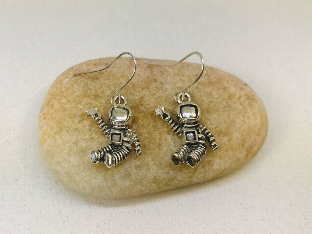 NASA Astronaut Earrings, Astronaut Gift