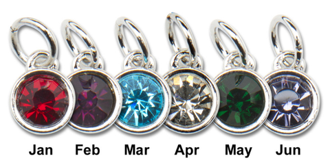 Birthstone Charm, Wholesale Birthstone Swarovski Crystal Birthstone Charms 3 Pieces wholesale Lot
