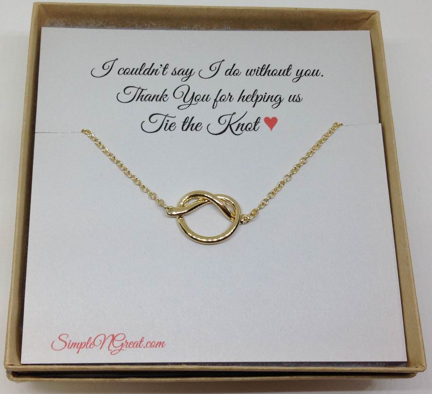 bridesmaid Gift Love knot wholesale