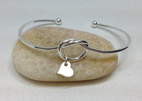 Bridesmaid Bangle, Bridesmaid Gifts, Will you be my bridesmaid, Help me tie the knot bracelet