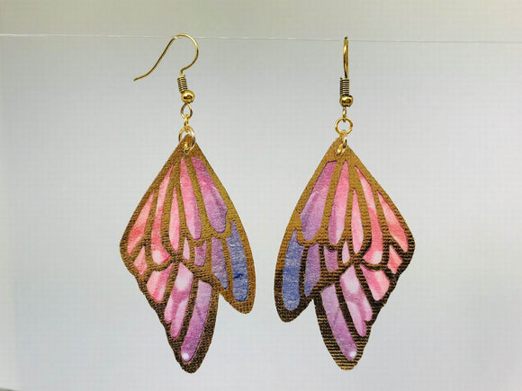Butterfly Wing Colorful earrings