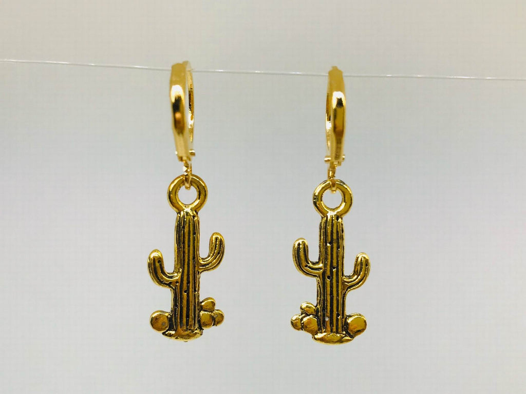 Cactus Earrings, Desert Jewelry