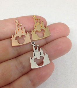 Wholesale Disney Castle Mickey Charm