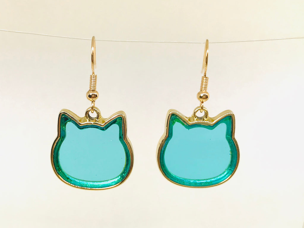 Cat Face Earrings