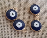 5pcs Blue Evil Eye Charms