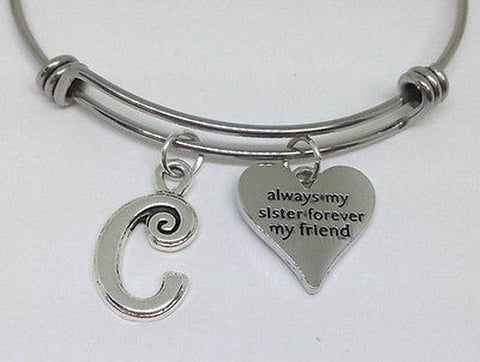 Always My Sister Forever My Friend Bracelets