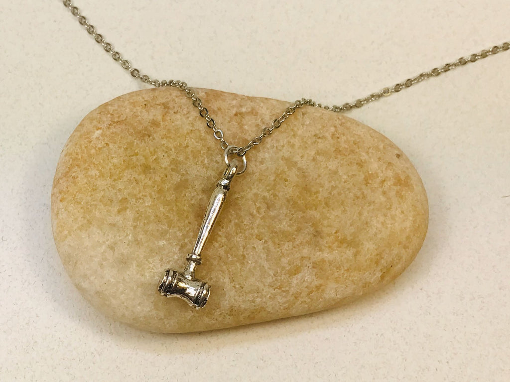 Wholesale Gavel Necklace, Judge Jewelry