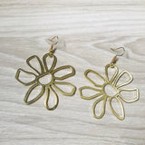 Sunflower Flower Earrings
