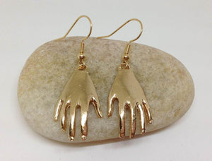 Hand Earrings, STATEMENT EARRINGS