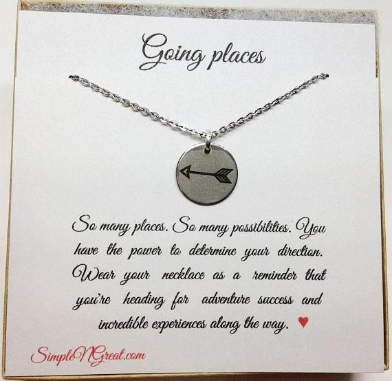 Going Places Graduation BFF Best Friend Gift Grads