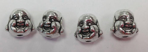 6 Wholesale Happy Budda BEAD Charm