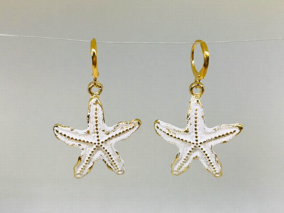 Starfish Novelty Earrings