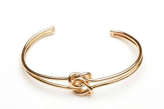 DOUBLE Love Knot Bangle