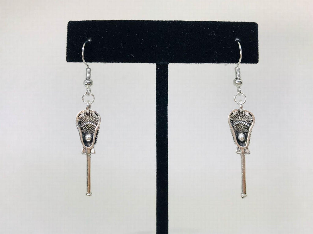 Lacrosse Stick Earrings, Lacrosse Jewelry