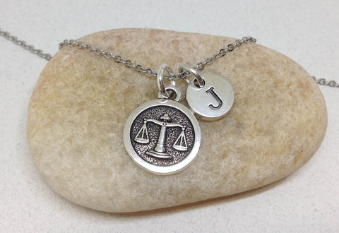 Libra necklace zodiac