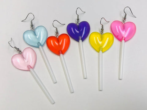 Lollipop Earrings, Novelty Earrings