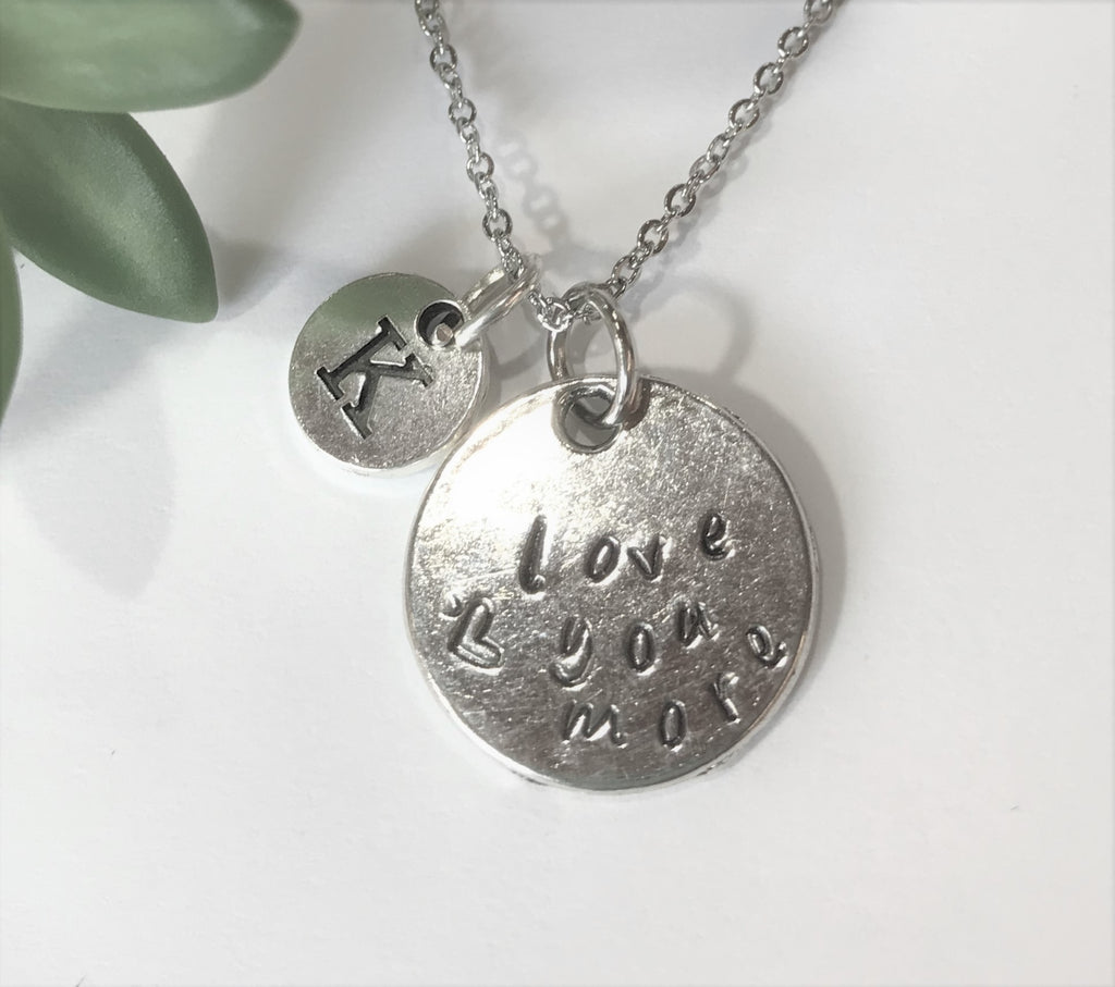 Love you more Charm Necklace - Couple, Lover Jewelry