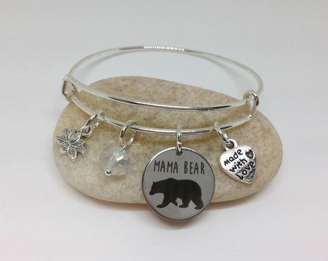 Mama Bear Charm, Mother's day Gift