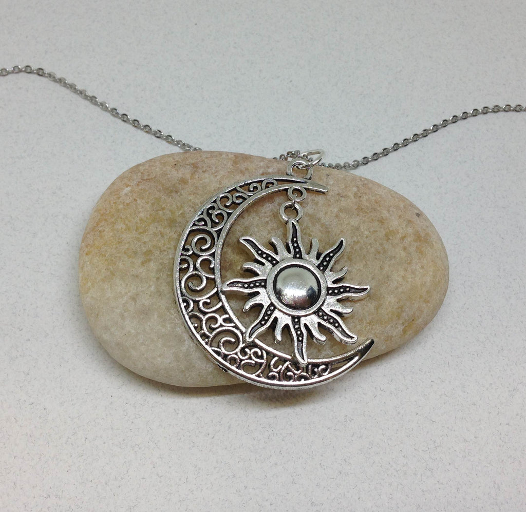 Moon Necklace, Celestial Jewelry