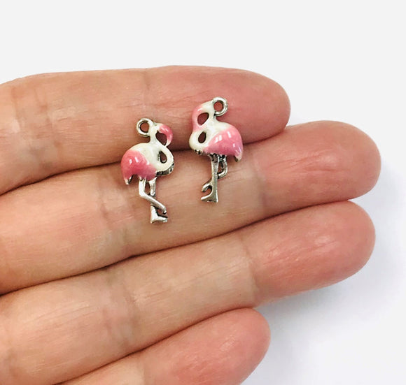 5 Flamingo Charm Wholesale