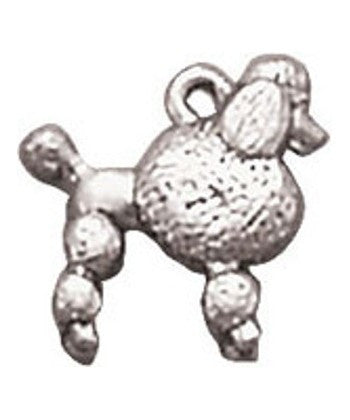 Wholesale French Poodle Charm Dog Charm