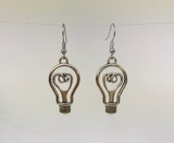 Light Bulb Novelty Earrings