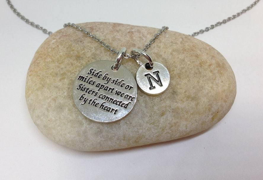 Sister Charm Personalized Necklace
