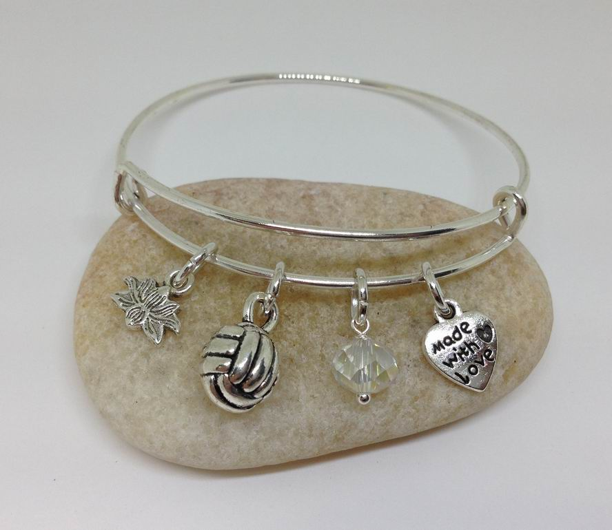 Volleyball Charm Jewelry