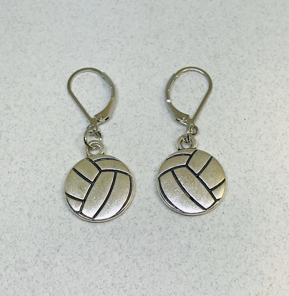 Volleyball Earrings