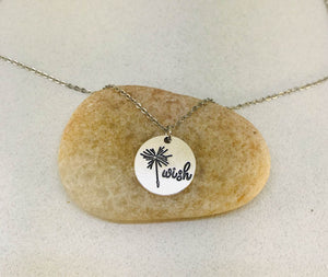 Dandelion Necklace, Mother Children Necklace, Gift For Mom
