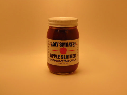 Holy Smokes Apple Slather BBQ Sauce