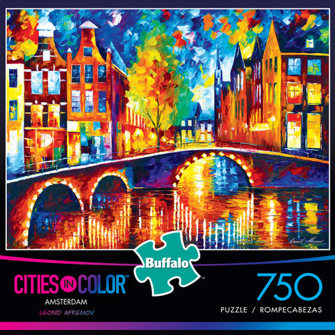 Buffalo Games Cities in Color Puzzle - Amsterdam