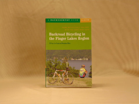 Backroad Bicycling Finger Lakes - 30 Tours for Road and Mountain Bikes
