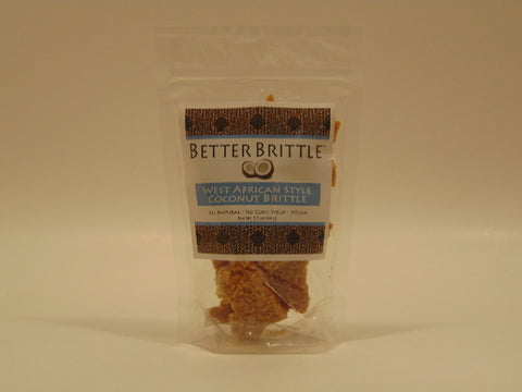 Better Brittle West African Style Coconut Brittle