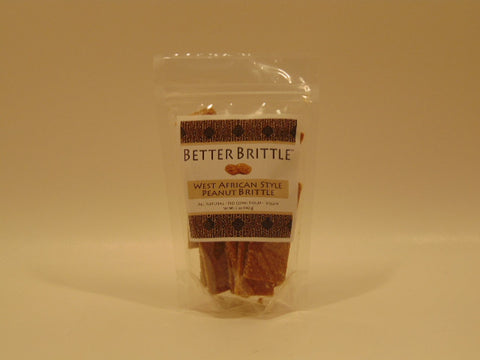 Better Brittle West African Style Peanut Brittle