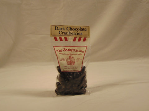 The Basket Company Dark Chocolate Cranberries