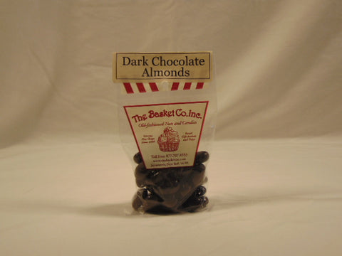 The Basket Company Dark Chocolate Almonds
