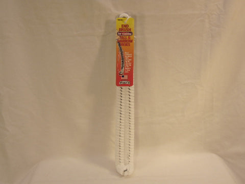 Brushtech End Brush for Tall, Narrow Vases