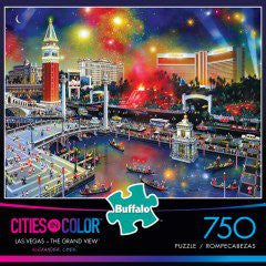 Buffalo Games Cities in Color Puzzle - Las Vegas - The Grand View