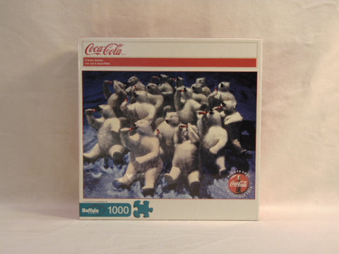 Buffalo Games Coca Cola - Thirsty Bears Puzzle