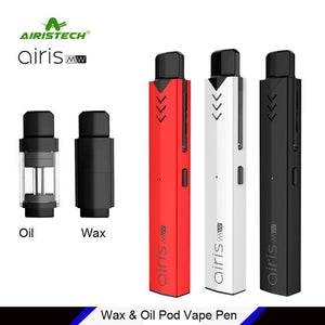 Airistech Airis MW Ultimate Vape Pods Pen For Oil and Wax 2-in-1 Kit (Ships From USA)